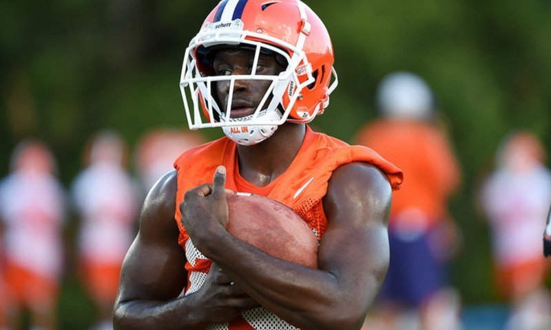 Justyn Ross and Lyn-J Dixon (pictured) have Clemson coaches recalling a pretty special group in their time in at Clemson.