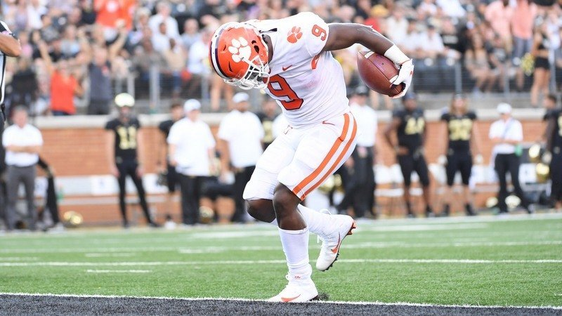 No Wake Zone: Tigers annihilate Demon Deacons behind record ground game