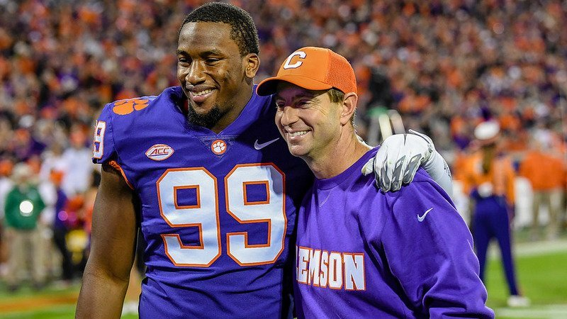 Clelin Ferrell says he hasn't made up his mind about returning