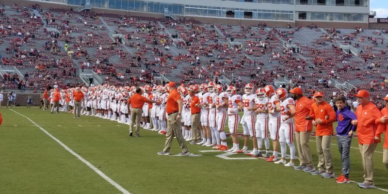 LIVE from Tallahassee, FL - Clemson vs. Florida State