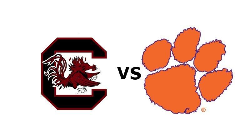 Clemson hosts South Carolina at 7 pm Saturday