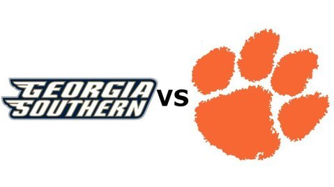 Clemson plays Georgia Southern at noon