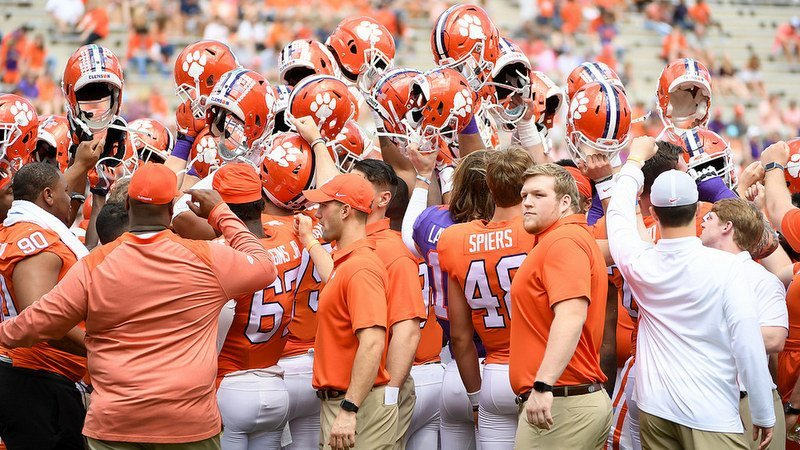 Clemson held a scrimmage last Thursday in Death Valley