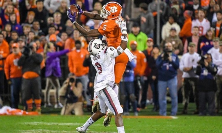 Clemson WR's high school jersey to be retired