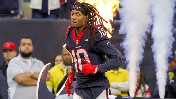 WATCH: DeAndre Hopkins with suplex tackle after interception