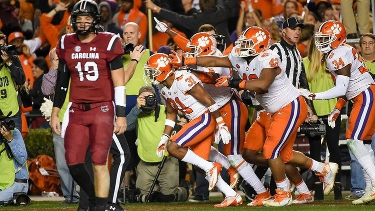 Clemson defeated South Carolina in Columbia two years ago.