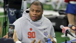 Dexter Lawrence suffers injury during 40-yard dash at NFL Combine