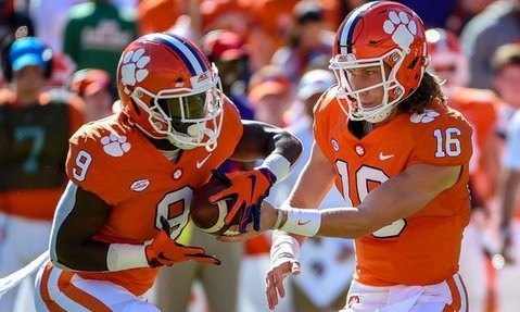 Clemson has been ranked in the top-four of the CFP rankings over the last 20 editions.