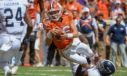 Playing time breakdown: Clemson football going into ACC action