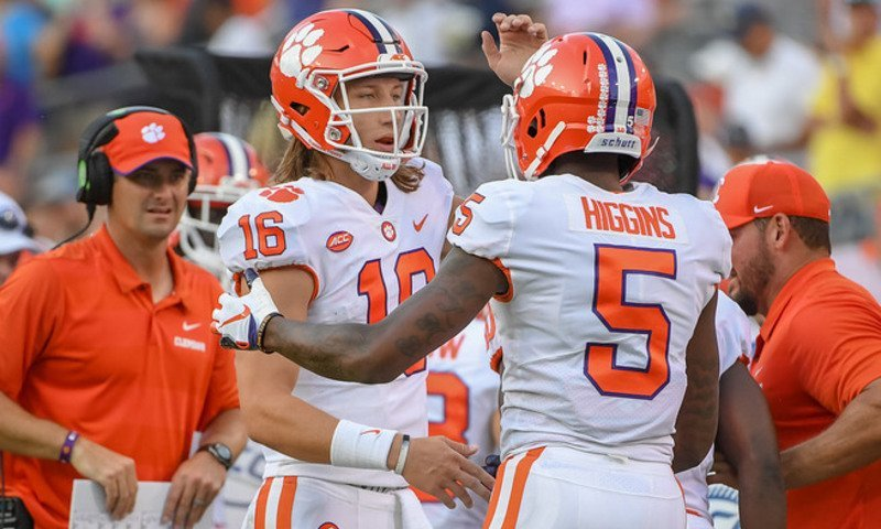 Trevor Lawrence and Tee Higgins have hooked up for some big connections already through four games, helping a spike in big passing plays.