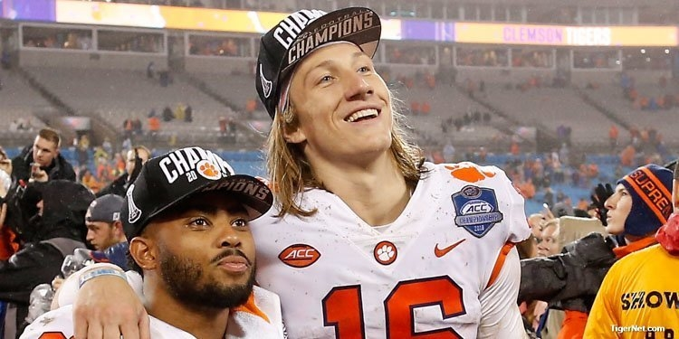 Trevor Lawrence and Clemson have had a lot to smile about since he took over the starting role during the season.