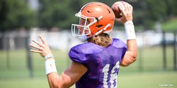 Practice Observations: Lawrence runs with first-team offense
