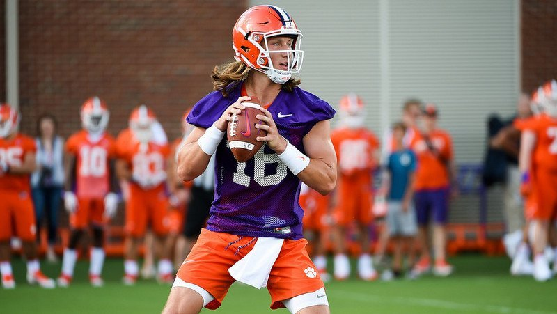 Swinney says Trevor Lawrence is learning which throws he can and can't make