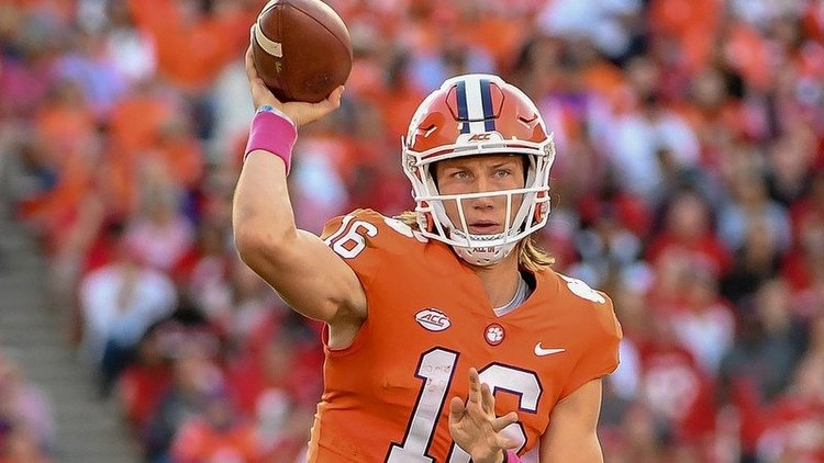 Clemson debuted in the CFP poll as the No. 2 team for the second time in three seasons.