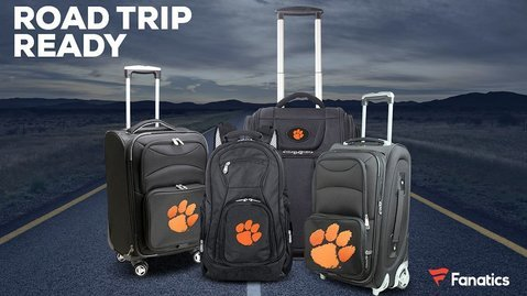 ALERT: Clemson luggage 40% off + other clearance items