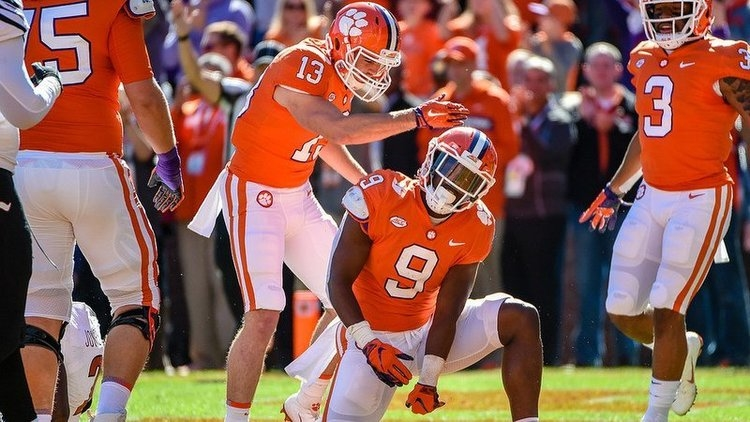 Clemson ranked No. 2 in latest Coaches Poll