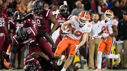 Hunter Renfrow jokes about coming back to Clemson