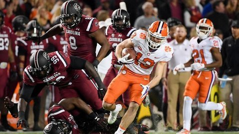 Hunter Renfrow would not have been a star at the combines, but ask South Carolina and Alabama if he can play