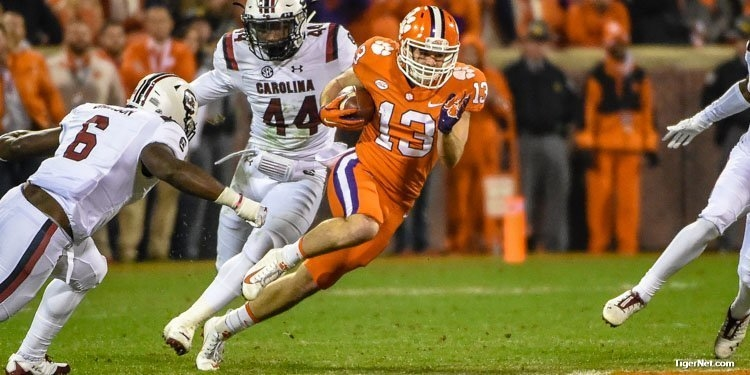 Renfrow began his career as a walk-on and looks to finish as a starter with a second national title in three seasons.