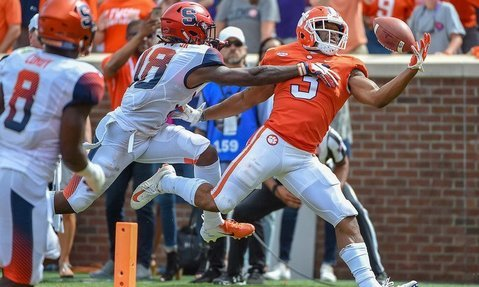 Amari Rodgers is back in the mix for the Clemson offense.