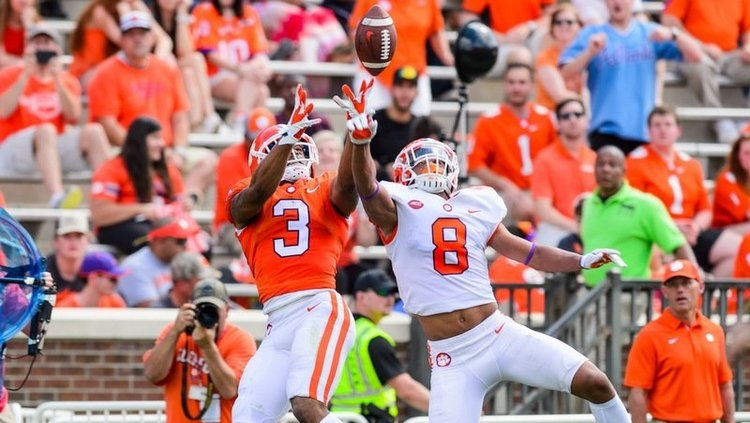 Clemson announces time, TV info for spring game