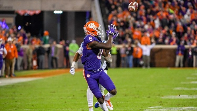 Clemson ranked No. 2 in latest AP Poll