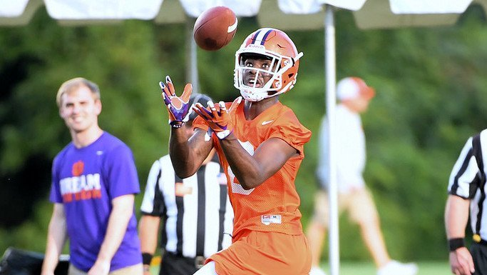 Justyn Ross has been impressive in fall camp