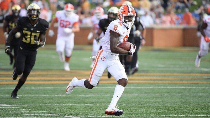 Justyn Ross has 25 catches on the season
