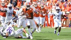 Playing time breakdown: Clemson features freshmen in opener