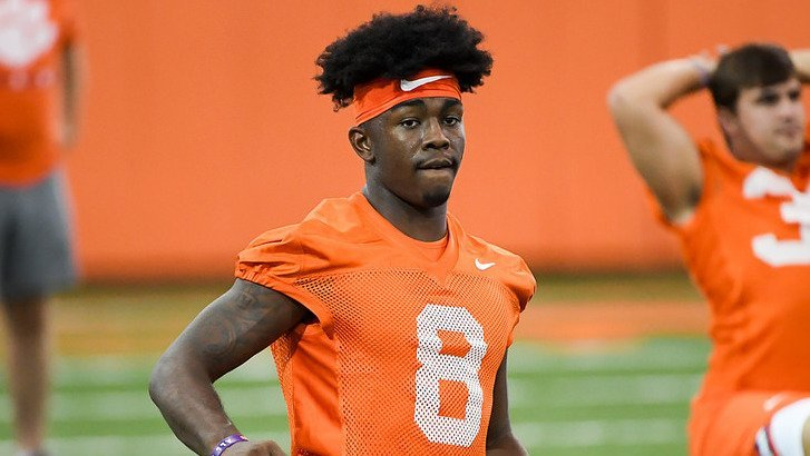 Justyn Ross is making a statement early in fall camp