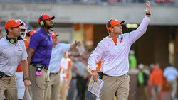 Clemson coach says Dabo Swinney is a young Bobby Bowden