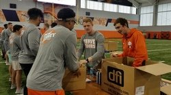 "Tigers Give Back: Pollard says ""it's a blessing"" to give back to community"