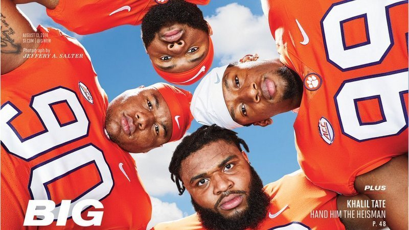 The four horses on Clemson's defensive line (Photo courtesy of SI)