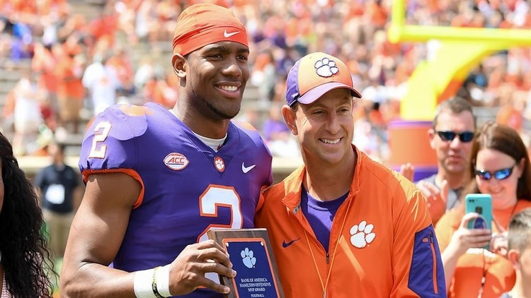 Swinney said regarding Bryant's comments that he wasn't treated fairly: 'This is isn't middle school.'