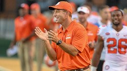 Dabo Swinney wins CFB Coach of the Year award