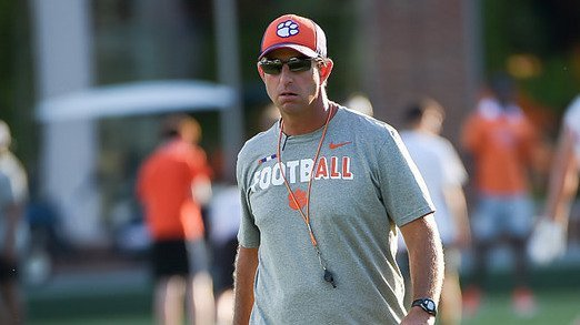 Swinney says he has something to prove every day