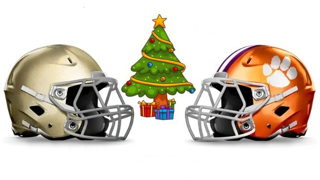 Christmas in Dallas - the Tigers and Irish will both spend Christmas away from home