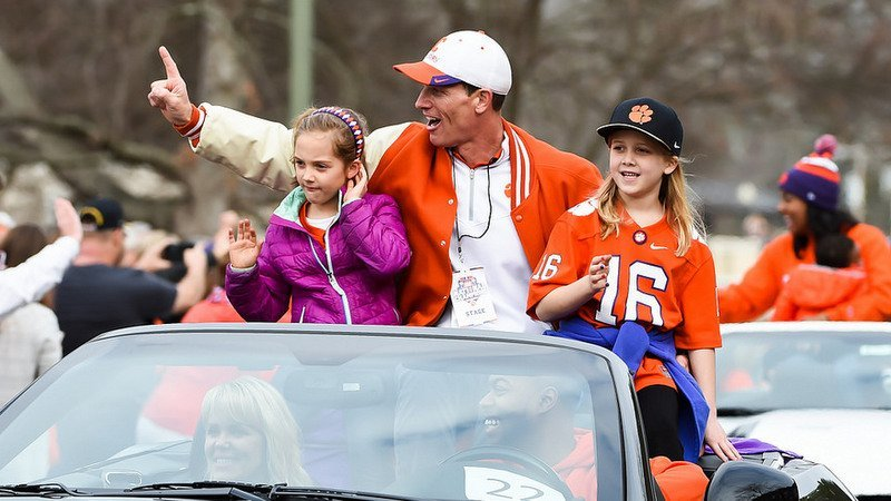 Venables says he wants to be the best role model he can be for his daughters