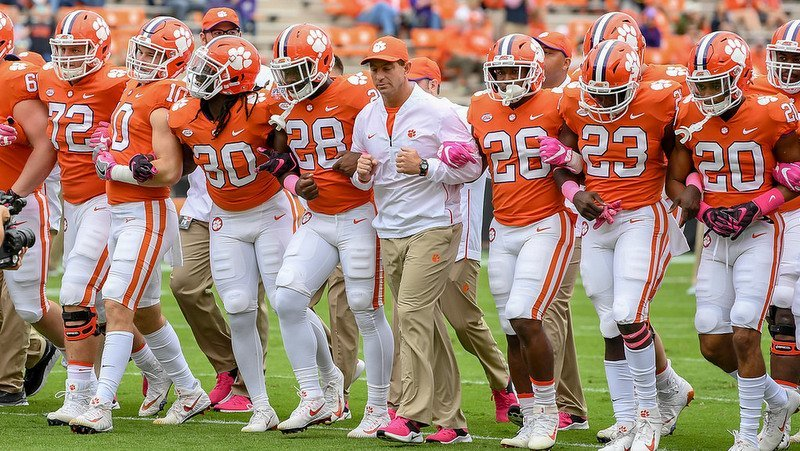 Clemson head coach Dabo Swinney says the Tigers still haven't played their best