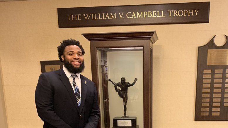 Wilkins won the Campbell Trophy earlier this week