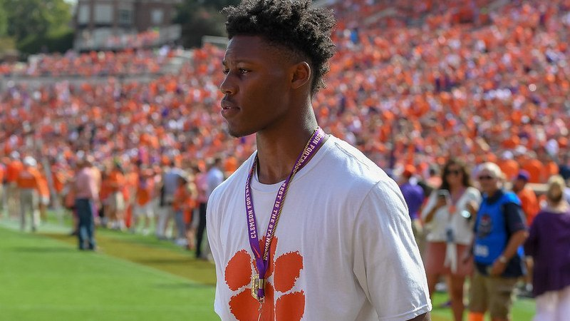 Capers visited Clemson for the Tigers' win over NC State