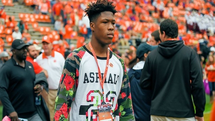 Crouch has taken a few visits to Clemson including the Louisville and FSU game.