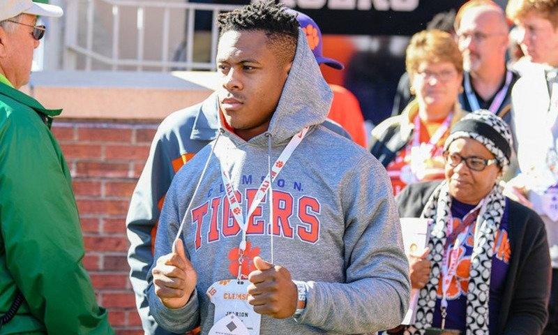 Ealy is shown here on the sidelines Saturday at Clemson