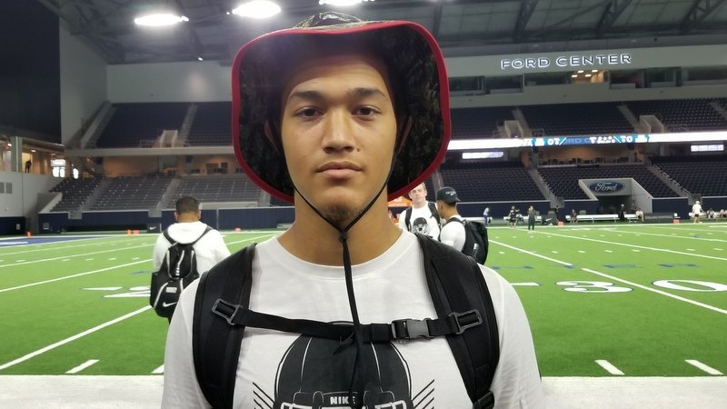 Huffman-Dixon at The Opening in Frisco, TX, last week