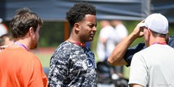 Swinney Camp Insider: Wednesday afternoon session sees rising LB visit