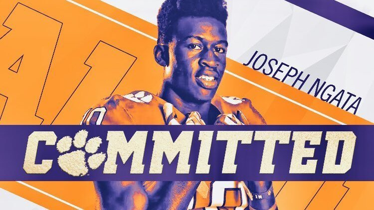 Ngata committed to Clemson over the weekend