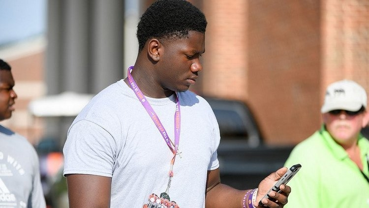 One visit was enough for Ruke Orhorhoro to get a feel for his college destination in Clemson.