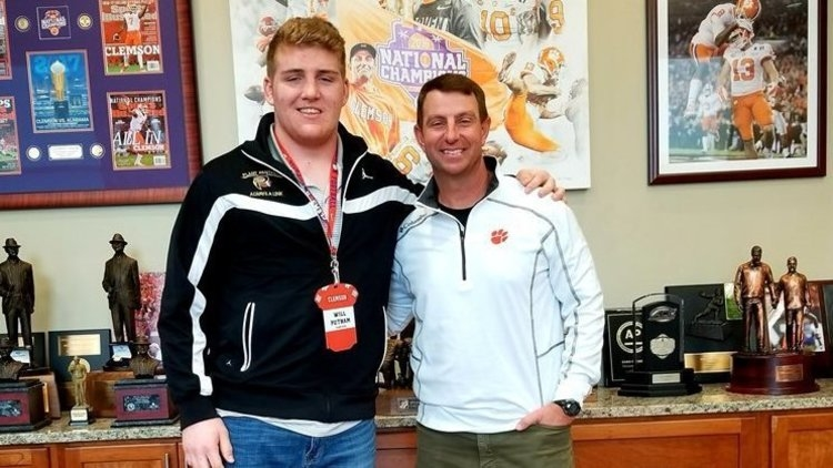Recruiting rankings: Clemson cracks top-5 after Putnam signing