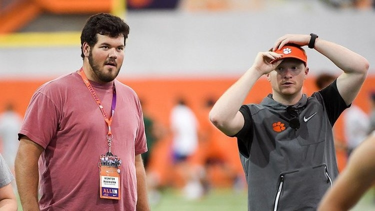 Rayburn on Clemson: 'There's just nothing like it'