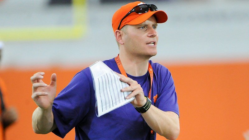 Streeter is looking for the right fit for Clemson